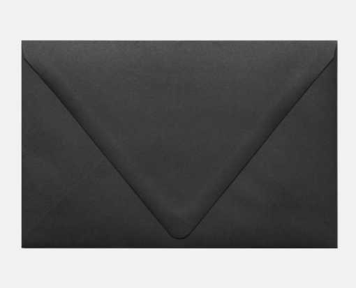 A9 Contour Flap Envelopes (5 3/4 x 8 3/4) Midnight Black
