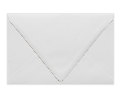 A9 Contour Flap Envelopes (5 3/4 x 8 3/4) White - 100% Recycled