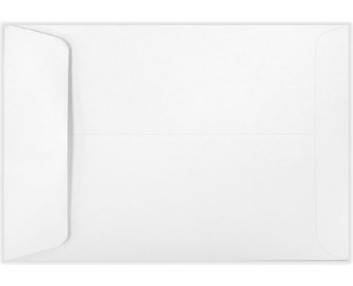 6 1/2 x 9 1/2 Open End Envelopes 24lb. Bright White
