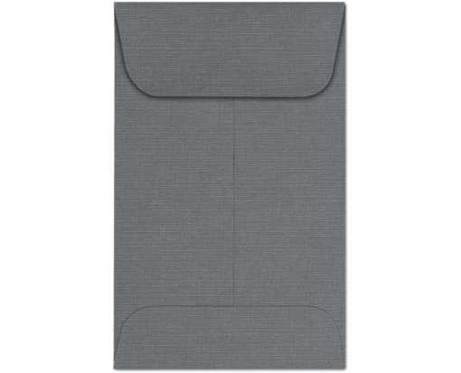 #1 Coin Envelopes (2 1/4 x 3 1/2) Sterling Gray Linen