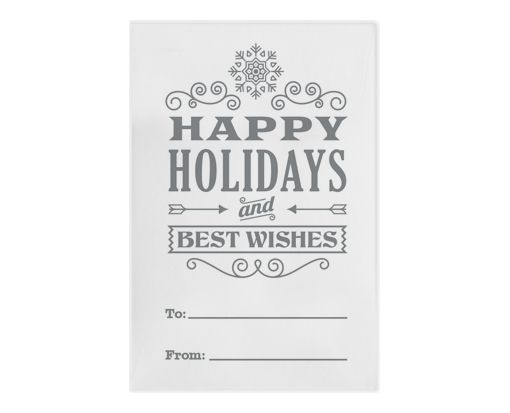 #1 Coin Envelopes (2 1/4 x 3 1/2) Holiday Greeting