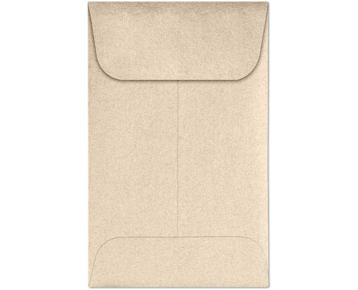 #1 Coin Envelopes (2 1/4 x 3 1/2) Taupe Metallic