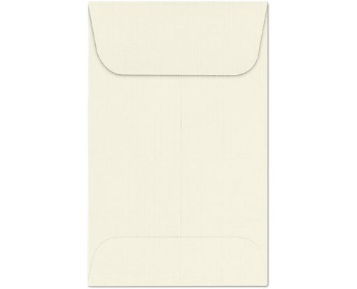 #1 Coin Envelopes (2 1/4 x 3 1/2) Natural Linen