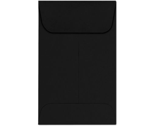 #1 Coin Envelopes (2-1/4 x 3-1/2) Midnight Black