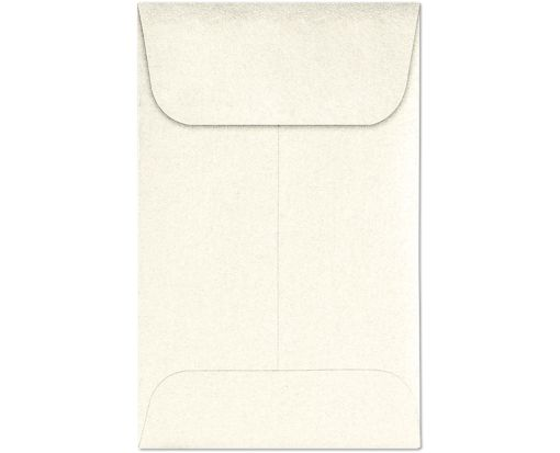 #1 Coin Envelopes (2 1/4 x 3 1/2) Champagne Metallic