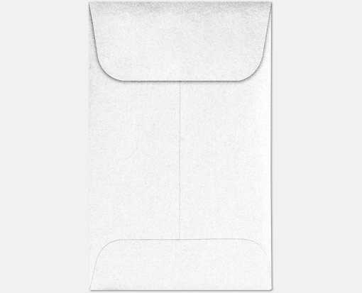 #1 Coin Envelopes (2 1/4 x 3 1/2) Crystal Metallic