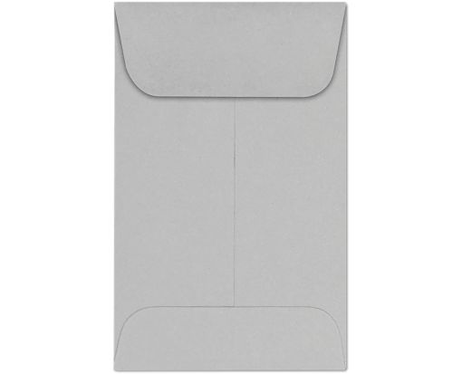 #1 Coin Envelopes (2 1/4 x 3 1/2) 28lb. Gray Kraft