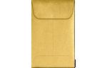 #1 Coin Envelopes Gold Metallic