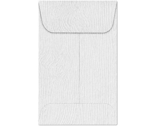 #1 Coin Envelopes (2 1/4 x 3 1/2) White Birch Woodgrain