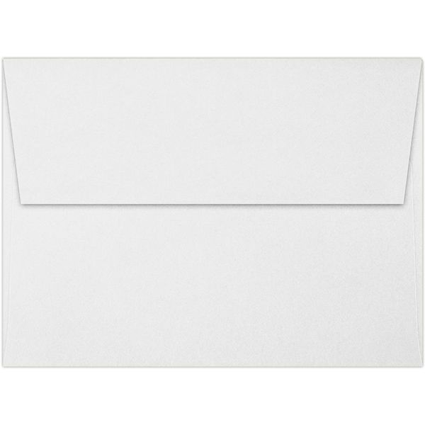 Lb Bright White A Envelopes  Square Flap    X