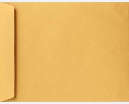 6 1/2 x 9 1/2 Open End Envelopes 24lb. Brown Kraft