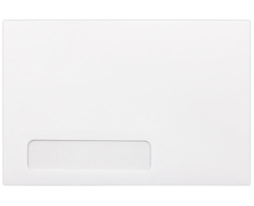 6 x 9 Window Envelopes 24lb. Bright White