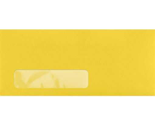 #10 Window Envelopes (4 1/8 x 9 1/2) Goldenrod