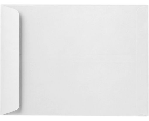 7 1/2 x 10 1/2 Open End Envelopes 24lb. Bright White