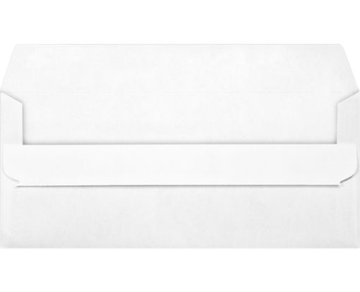 #10 Window Envelopes (4 1/8 x 9 1/2) White w/ Simple Seal