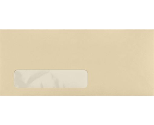#10 Window Envelopes (4 1/8 x 9 1/2) Tan