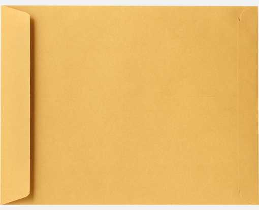 11 1/2 x 14 1/2 Open End Envelopes 28lb. Brown Kraft