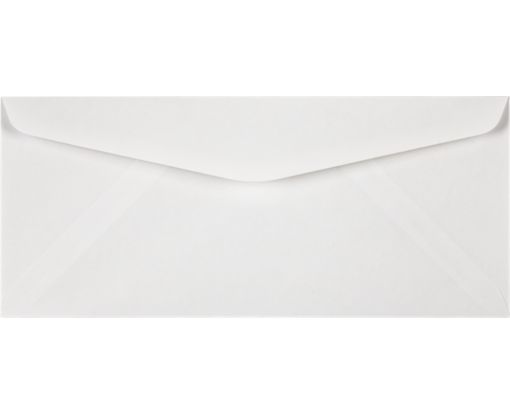 #10 Regular Envelopes (4 1/8 x 9 1/2) White - 30% Recycled