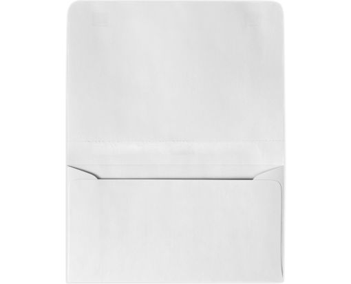 #6 2-Way Envelopes (4 1/4 x 6 1/2 Closed) 24lb. Bright White