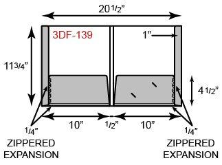 "10"" x 11 3/4 Presentation Folders - 1/4"" Expansion Pockets and 1"" Reinforced Edges"
