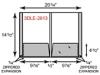 Legal Size Folders - Two Pocket w/ Expansion Pockets & Reinforced Edges