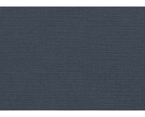 A1 Flat Card (3 1/2 x 4 7/8) Nautical Blue Linen