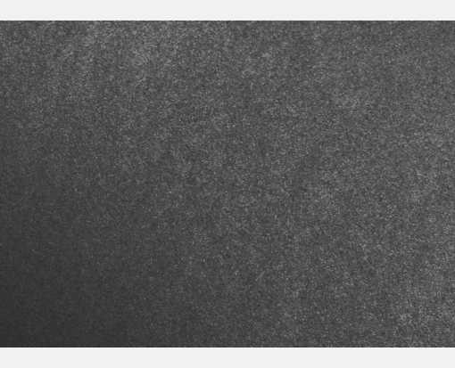 A1 Flat Card (3 1/2 x 4 7/8) Anthracite Metallic