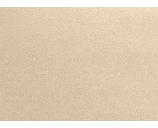 A1 Flat Card (3 1/2 x 4 7/8) Taupe Metallic