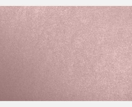 A1 Flat Card (3 1/2 x 4 7/8) Misty Rose Metallic - Sirio Pearl®