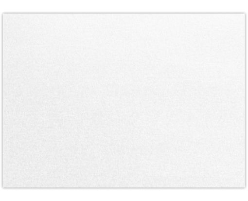 A1 Flat Card (3 1/2 x 4 7/8) - 105lb. Crystal Metallic Crystal Metallic