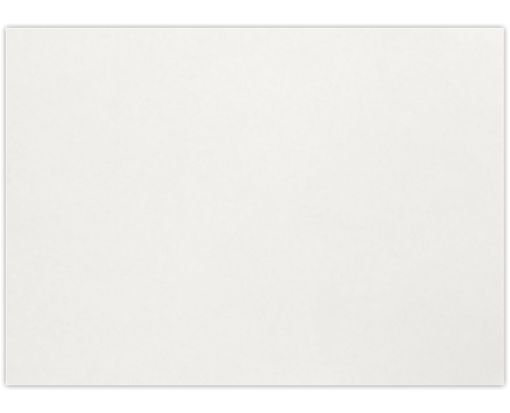 A1 Flat Card (3 1/2 x 4 7/8) Natural White - 100% Cotton