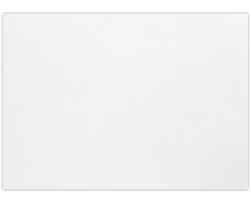 A1 Flat Card (3 1/2 x 4 7/8) White - 100% Recycled