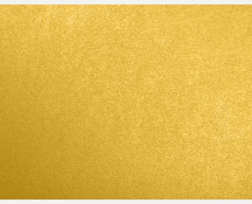 A2 Flat Card (4 1/4 x 5 1/2) Fine Gold Metallic - Stardream®