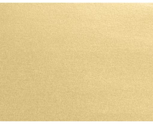 A2 Flat Card (4 1/4 x 5 1/2) Blonde Metallic