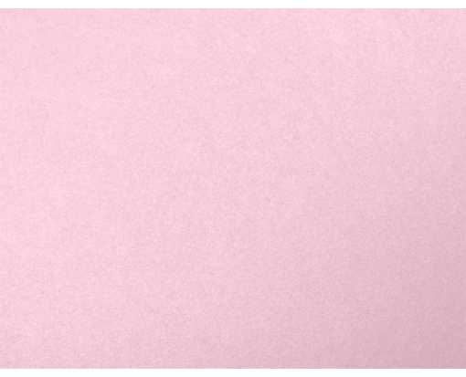 A2 Flat Card (4 1/4 x 5 1/2) Rose Quartz Metallic