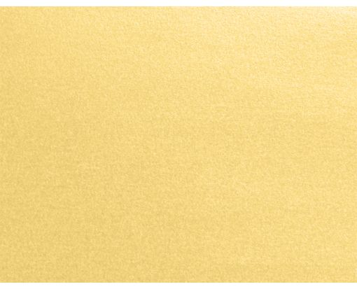 A2 Flat Card (4 1/4 x 5 1/2) Gold Metallic