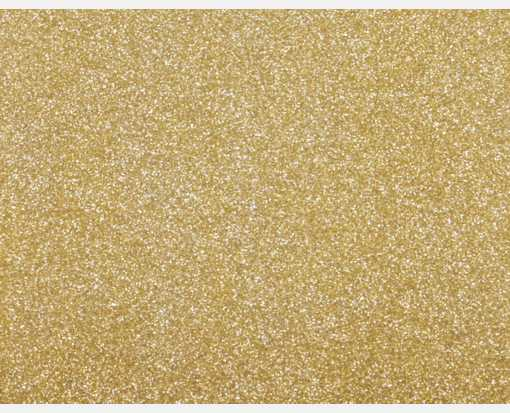 A2 Flat Card (4 1/4 x 5 1/2) Gold Sparkle