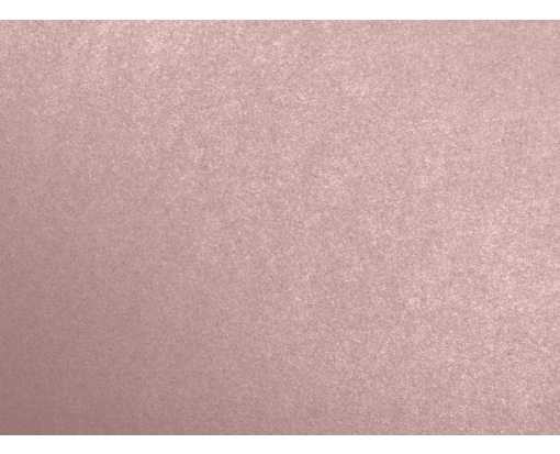 A6 Flat Card (4 5/8 x 6 1/4) Misty Rose Metallic - Sirio Pearl®