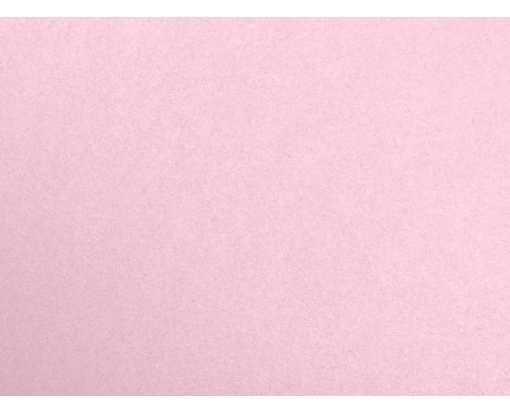 A6 Flat Card (4 5/8 x 6 1/4) Rose Quartz Metallic
