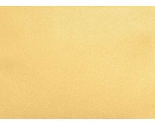 A6 Flat Card (4 5/8 x 6 1/4) Gold Metallic