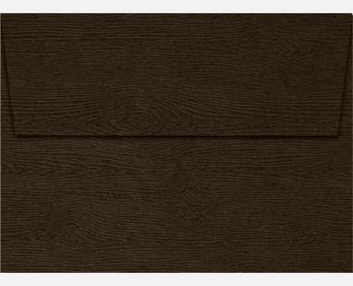 A6 Invitation Envelopes (4 3/4 x 6 1/2) Teak Woodgrain