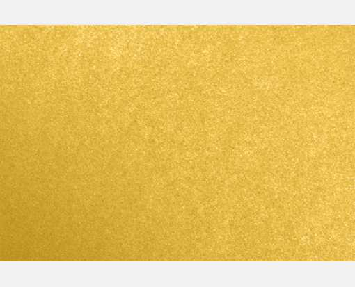A7 Flat Card (5 1/8 x 7) Fine Gold Metallic - Stardream®