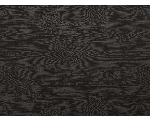 A7 Flat Card (5 1/8 x 7) Brasilia Black Woodgrain