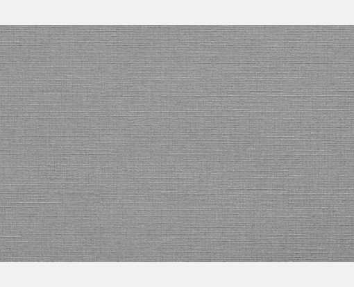 A7 Flat Card (5 1/8 x 7) Sterling Gray Linen