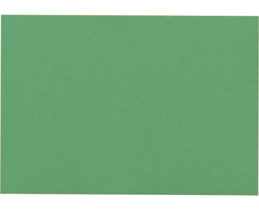 A7 Flat Card (5 1/8 x 7) Holiday Green