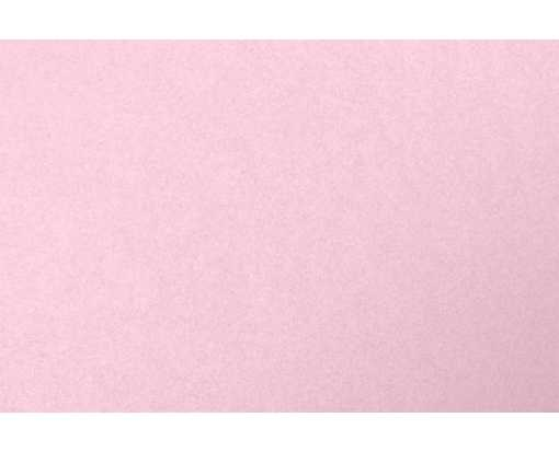 A7 Flat Card (5 1/8 x 7) Rose Quartz Metallic