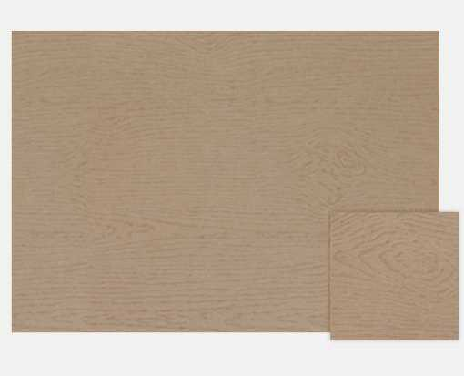 A7 Flat Card (5 1/8 x 7) Oak Woodgrain