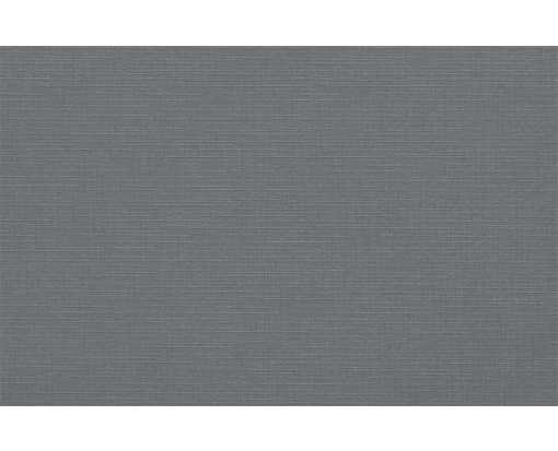 A9 Flat Card Sterling Gray Linen