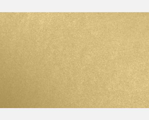 A9 Flat Card (5 1/2 x 8 1/2) Blonde Metallic