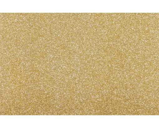 A9 Flat Card Gold Sparkle